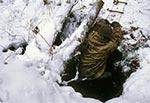 Eksploracja starej, ok. 11 metrowej głębokości studni w nieistniejącej wsi Szałasy