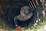 Studnia w nieistniejącej wsi Szałasy