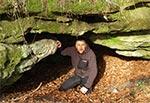 Przed jaskinią Prałasanta