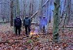 Odpoczynek w nieistniejącej wsi Niedźwiedzie