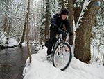 Rezerwat Szum zimą