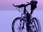 Przeraźliwe zimno zmierzchu. Po dniu jazdy dochodzi jeszcze krańcowe zmęczenie