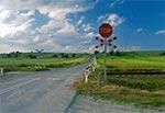Przejazd kolejowy na północ od Suśca