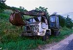 Star 266 - koparka K-407, na Roztoczu Zachodnim