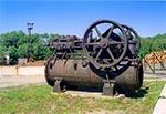 Lokomobila - jako silnik parowy do dawnego tartaku w Rudzie Różanieckiej