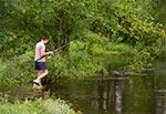Wędkowanie podczas letniej powodzi - trudne ale możliwe