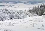 Spojrzenie na dolinę Gorajca z wierzchowiny