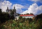 Klasztor w Radecznicy z 1686 r., wzniesiony na miejscu objawienia się św. Antoniego z Padwy Szymonowi Tkaczowi, mieszkańcowi wioski.