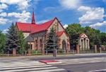 Kościół parafii Matki Bożej Różańcowej i Aniołów Stróżów  (Max. wielkość obrazu - 48 mln.pix).