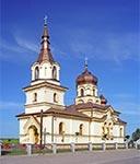 Kościół pw. św. Andrzeja Boboli w Babicach, na południe od Łukowej - dawna cerkiew