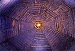 Kopuła drewnianej cerkwi w Woli Wielkiej, z 1755 roku, pw.Opieki Najświętszej Maryi Panny.
