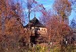 Dzwonnica cerkwi w Hrebennem