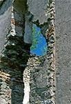 Ruina cerkwi św. Mikołaja w Hucie Różanieckiej