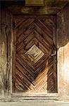 Drzwi cerkwi pw. św. Mikołaja w Radrużu