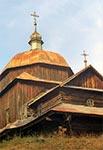 Cerkiew greckokatolicka pw. Opieki NMP w Woli Wielkiej, z 1755r.
