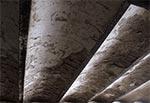 Strop piwnic gorzelni w Hucie Kryształowej