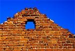 Ruiny zabudowań cegielni pod Zamościem