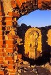 Ruiny kapliczki w Potokach z lat 70-80. XVIII