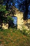 Cerkwisko w Dziewięcierzu Moczarach. Stojąca tu niegdyś cerkiew została zbudowana w 1838 roku.