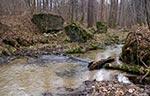 Ruiny mostu na potoku Różaniec. (Max. wielkość obrazu - 45 mln.pix).