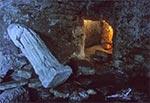 Piwnice dawnego klasztoru OO.Bazylianów w Monasterze