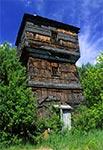 Stara wieża ciśnień - stacja Józefów Roztoczański
