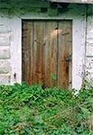 Drzwi starej chałupy - Wólka Horyniecka