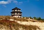 Wieża widokowa nad kamieniołomem w Krasnobrodzie