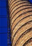 Archiwalne zdjęcia komina cegielni pod Zamościem - od dawna nie istnieje