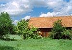 Tradycyjna stodoła w Skaraszowie