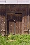 Drzwi młyna w Ciotuszy
