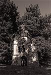 Dzwonnica cerkwi w Starym Dzikowie