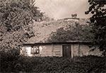 Jedna z ostatnich krytych strzechą chat roztoczańskich