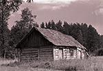 Opuszczone domostwo na Roztoczu Wschodnim