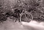 Zdjęcie archiwalne - mój stary bicykl, który już dawno uległ biodegradacji, w czym mu wydatnie pomogłem ;-)