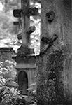 Cmentarz w Bruśnie Starym z dawniejszych nieco czasów - koniec lat 90