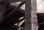 Detale stodoły w Chmielach