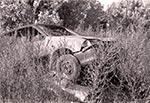 Motoryzacyjny artefakt w okolicy Wielączy