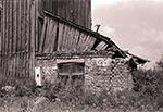 Młyn w ruinie między Gorajcem a Radecznicą