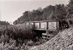 Pozostałości po tajnej rampie przeładunkowej w okolicy Baszni - to był most, a torów obecnie już nie ma