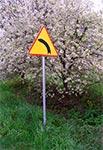 Wiosenny znak w miejscowości Czołki pod Zamościem