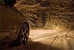 Droga przez Górę Brusno zimą