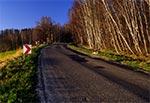 Droga między Suchowolą a Rachodoszczami