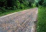 Klinkierowa droga do Łazowej - klimat Wschodu