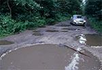 Najtrudniejsza droga publiczna na Roztoczu (Łówcza - Nowe Brusno)