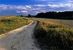 Na Roztoczu Środkowym - pola wsi Stanisławów
