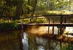 Mostek na Tanwi w Rebizantach o świcie