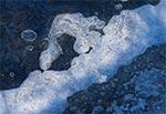 Lodowe abstrakcje u kresu zimy