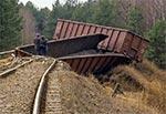 Ostatnie wagony pozostały na torach