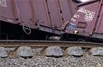 Wagony, które nie zsunęły się z torów